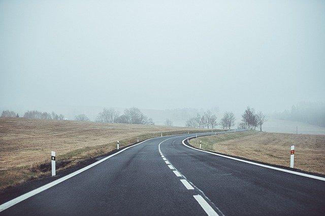 Empty roads from coronavirus