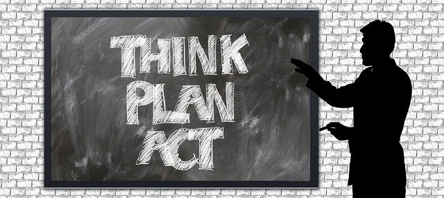 Think plan act, problem solving needs all three.